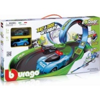 Bburago Go Gears Race & Chase Getaway Set Photo
