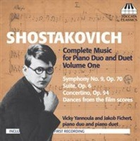 Shostakovich: Complete Music for Piano Duo and Duet Photo