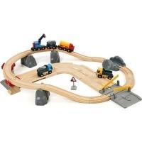Brio Rail & Road Quarry Set Photo