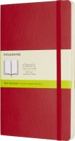 Moleskine Scarlet Red Large Plain Notebook Soft Photo
