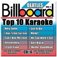 Billboard Beatles Top 10 Karaoke 1 CD Photo