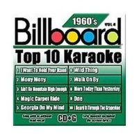 Billboard Top 10 Karaoke:60's Vol 4 CD Photo