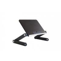 Uncaged Ergonomics WorkEZ Light Height Adjustable Laptop Stand - Silver Photo