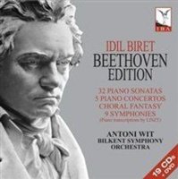 Idil Biret 32 Piano Sonatas/5 Piano Concertos/Choral Fantasy/... Photo