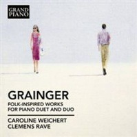 Grand Piano Grainger: Folk-inspired Works for Piano Duet and Duo Photo