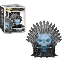 Funko Pop! Deluxe: Game of Thrones - Night King Sitting on Throne Vinyl Figurine Photo