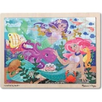 Melissa & Doug Mermaid Fantasea Wooden Jigsaw Puzzle - 48 pieces Photo