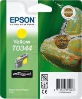 Epson T0344 Yellow Ink Cartridge Photo