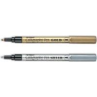Artline EK 999 XF Extra Fine Point Permanent Metallic Ink Marker Photo