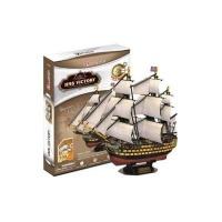 Cubic Fun 3D Puzzle - HMS Victory Photo