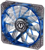 Bitfenix Spectre Pro Transparent Fan with Blue LED and Curved Design Fin for Focused Airflow Photo