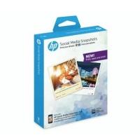 HP W2G60A Social Media Snapshots Removable Sticky Photo Paper Photo
