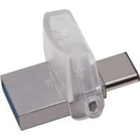 Kingston DTDUO3C/128GB Datatraveler 128GB USB 3.1 / Type C Flash Drive Photo