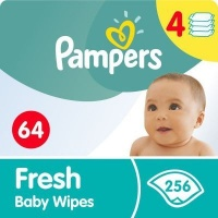 Pampers Baby Wipes Fresh 4's Photo