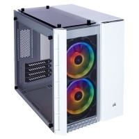 Corsair Crystal 280X RGB Tempered Glass Micro-Tower Chassis Photo