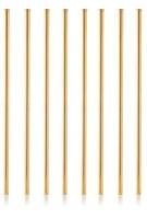 Gift Tribe Collective Gold Stainless Steel Straws Photo