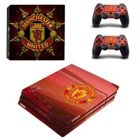 SKIN-NIT Decal Skin For PS4 Pro: Manchester United 2016 Photo