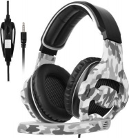 Sades 810 Camouflage Gaming Headphones with Microphone Photo