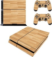 SKIN-NIT Decal Skin For PS4: Wood Photo