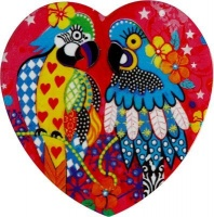 Maxwell and Williams Love Hearts Coaster - Araras Photo