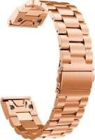 20mm Stainless steel link band for Garmin Fenix 5s - Rose Gold Photo