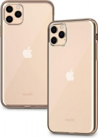 Moshi Vitros mobile phone case 16.5 cm Cover Gold Clear Case for iPhone 11 Pro Max - Champagne Photo