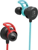 Hori Earbuds Pro Headset Ear-hook In-ear Blue Red Gaming for Nintendo Switch Photo