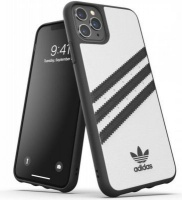 Adidas 36292 mobile phone case 16.5 cm Cover Black White 3-Stripes Snap Case for iPhone 11 Pro Max Photo