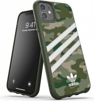 Adidas 36374 mobile phone case 15.4 cm Cover Green White 3-Stripes Camo Snap Case for iPhone 11 Photo