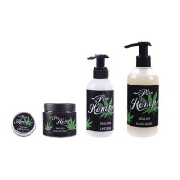Pure Indigenous Pure Hemp Bodycare Set- Body Lotion Body Butter Handwash and Lip Balm Photo