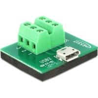 DeLOCK 65517 Adapter Micro USB Female > Terminal Block 6 pin Photo