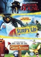 Triple Feature Animation - Monster House / Surf's Up / Open Season Photo
