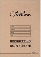 Treeline Double Ledger Bookkeeping Soft Cover Book Photo
