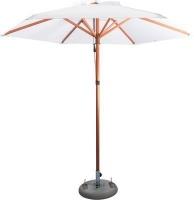 Cape Umbrellas Tokai Patio 2.6m Wooden Classic Line Umbrella Photo