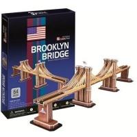 Cubic Fun 3D Puzzle - Brooklyn Bridge Photo