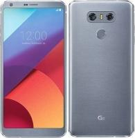 "LG G6 Ice Platinum 5.1"" -Core LTE & 64GB SD Card Cellphone Photo"