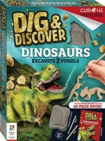 Hinkler Books Dig & Discover: Dinosaurs - Excavate 2 Fossils Photo