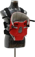 Chelino Snuggly Baby Carrier - Red/Grey Photo