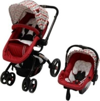 Chelino Twister Travel System - Red Circles Photo