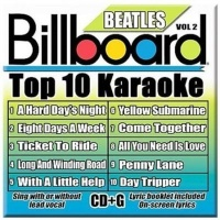 Billboard Beatles Top 10 Karaoke 2 CD Photo