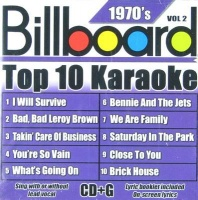 Billboard Top 10 Karaoke: 1970's Vol2 CD Photo