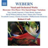 Anton Webern: Vocal and Orchestral Works Photo