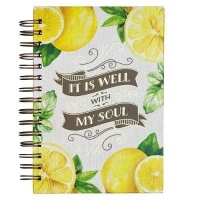 Christian Art Gifts Inc It Is Well With My Soul Large Journal Photo