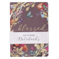 Christian Art Gifts Inc Blessed Is She Notebook Set Photo