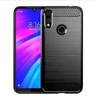 Xiaomi RedMi 7 Bumper case Silicone protective cover Black Photo