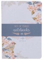 Christian Art Gifts Inc His Mercies Are New Medium Notebook Set - Lamentations 3:22-23 Photo