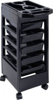 Lucky 5 Tier Plastic Salon Trolley with Top Utility Tray Photo