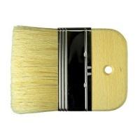 Borciani E Bonazzi Medium Length White Bristle Mottler Brush with 10mm Depth - 120 Photo