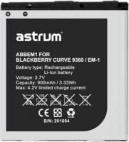 Blackberry Astrum ABBEM1 Replacement Battery for Curve 9360 Photo