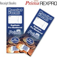 Prima Receipt Book Photo